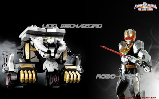 Wallpaper power rangers robot knight 2