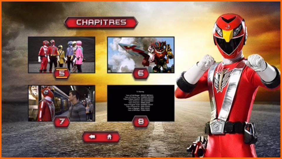 Pr samurai le choc des rangers rouge test dvd power - Jeux de power rangers super samurai ...