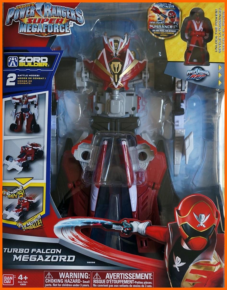 Turbo falcon megazord power rangers r unification - Ranger les jouets ...