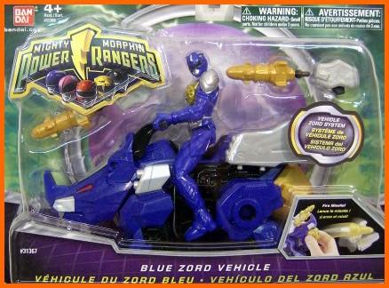 blue zord vehicule mmpr 2010