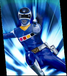 In-space-blue-ranger