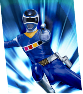 In-space-blue-ranger