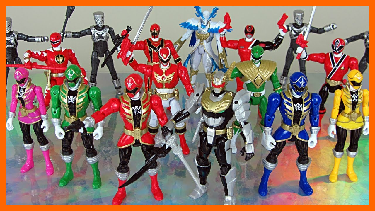 Power rangers mcdonalds jouets