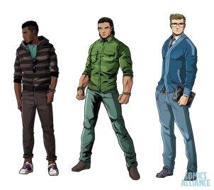 power rangers comic book 2