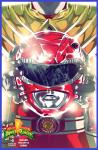 mmpr red cover dragon shield comic book