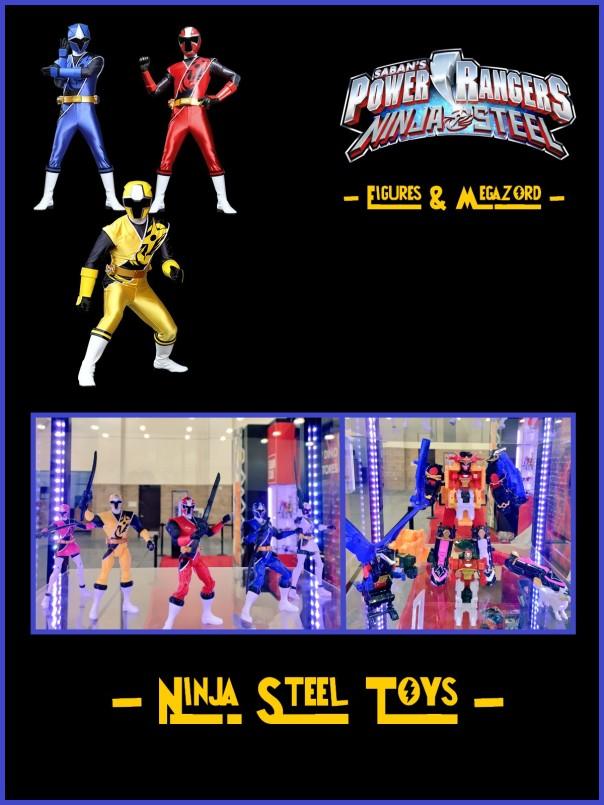 ninja Steel toys