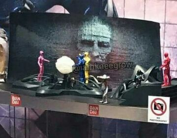 playset power rangers movie