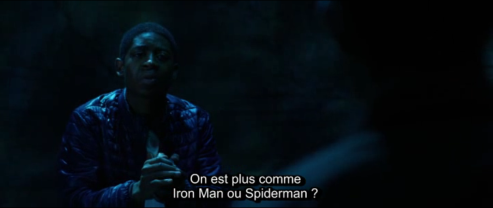 ironman or spiderman