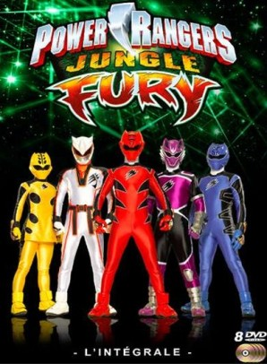 power rangers jungle fury dvd
