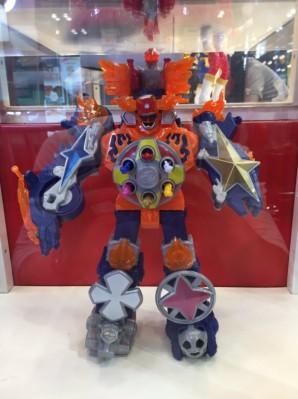 Blaze Megazord 1