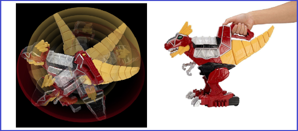 t-rex deluxe dino charge