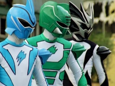 power rangers spirits rangers