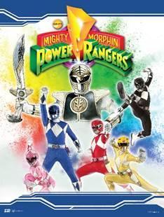 MightyMorphinPowerRangersCompleteSeries25thAnniversarySteelbook