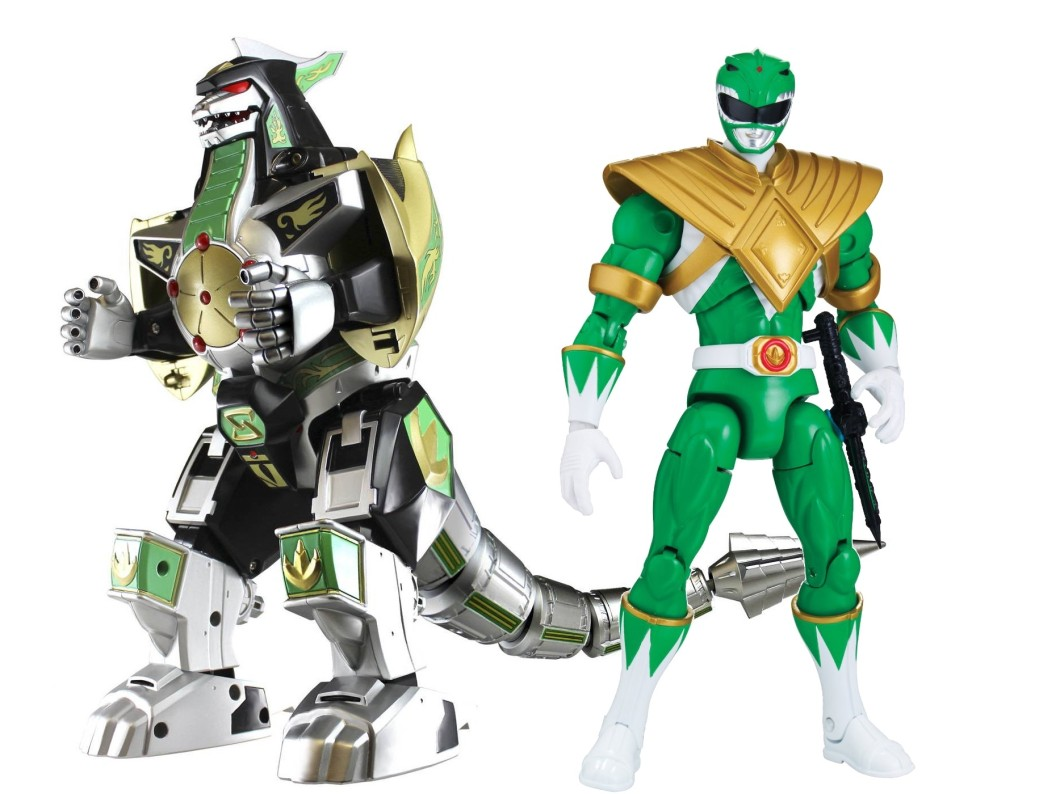 mmpr green toys