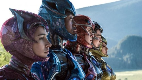 TEAM POWER RANGERS MOVIE LIONSGATE