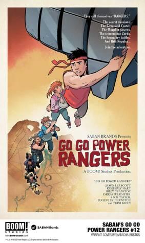 Go Go Power rangers 12 Variant cover 2