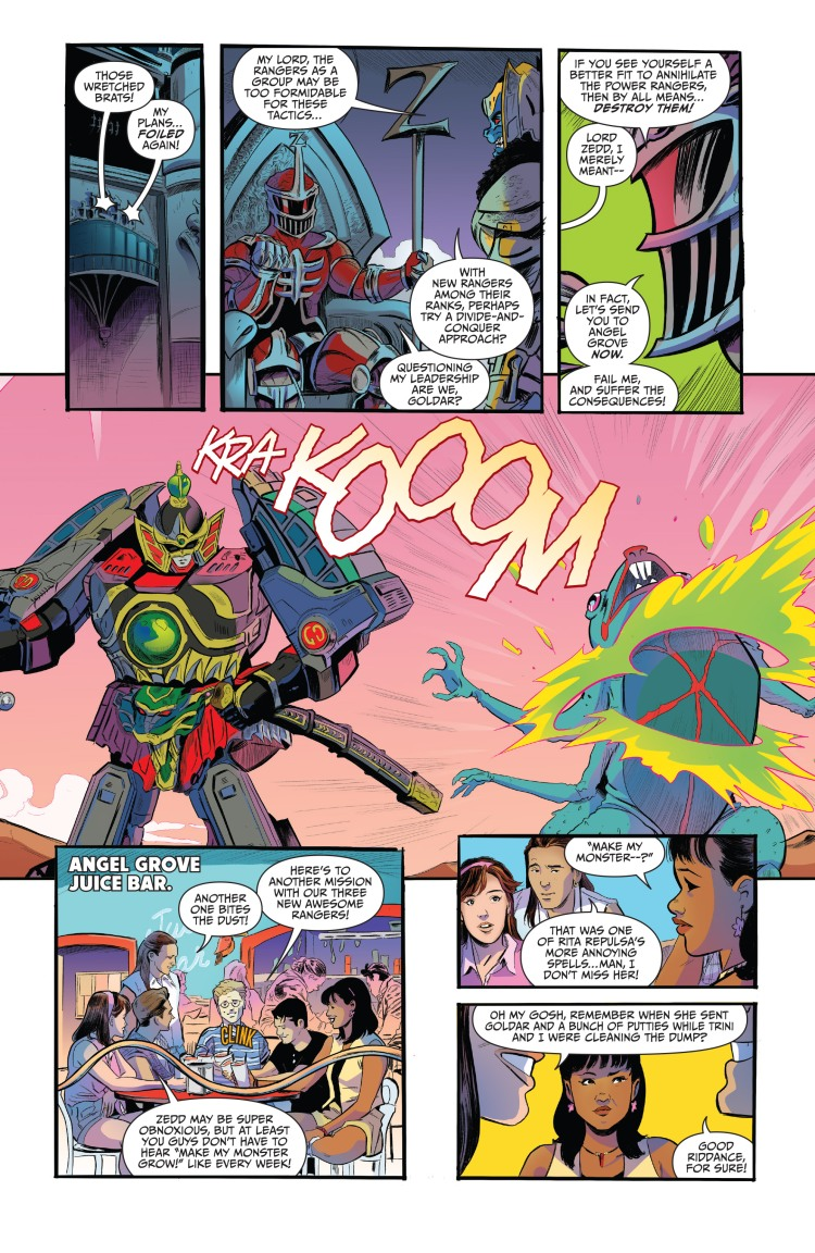 Mighty Morphin Power Rangers Anniversary Special 001-008