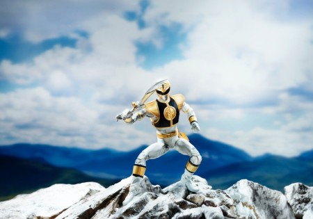 mmpr white lightning collection edition