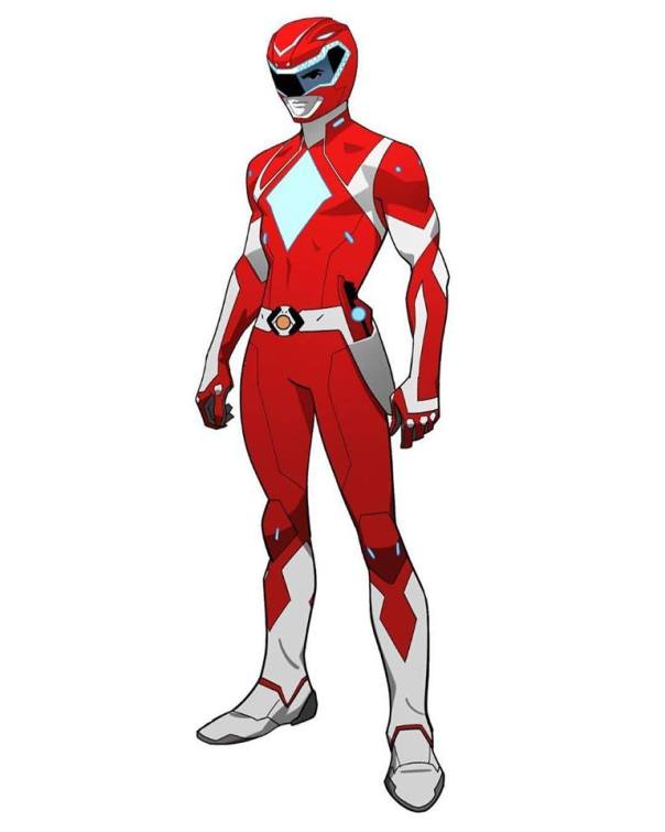 power rangers red rouge