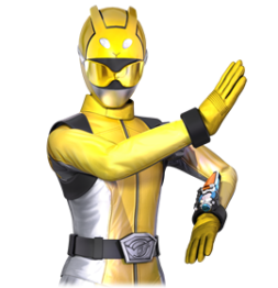 Go buster Yellow