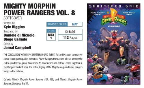 Mighty morphin power rangers vol.8b