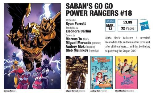 go go power rangers 18
