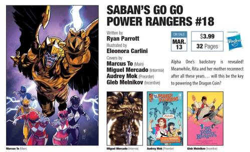 go go power rangers 18