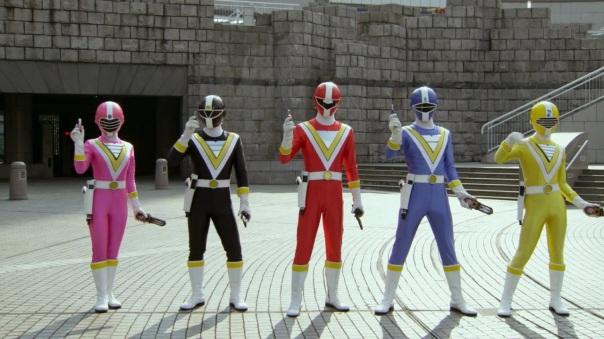 Supersonic Rangers Fiveman Gokaiger