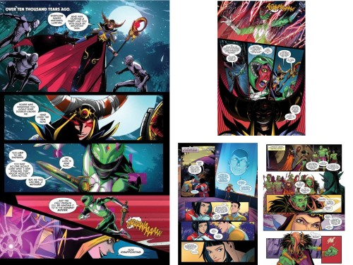 comic go go power rangers 16