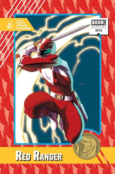 MMPR 41 Trading Card