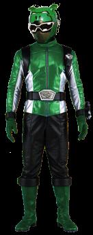go buster vert green