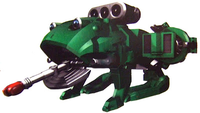 go buster zord