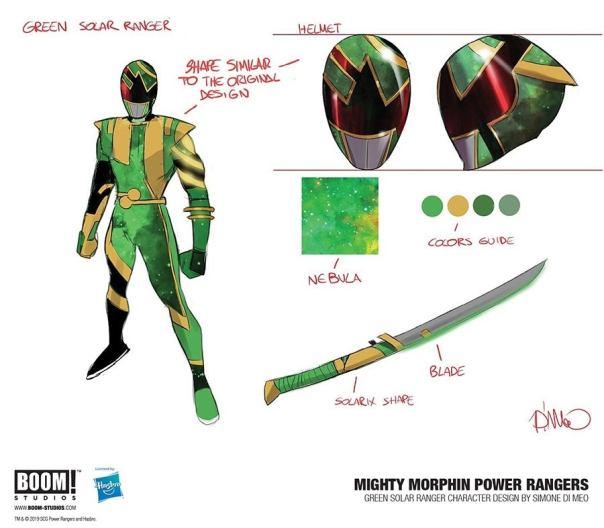 solar green samurai