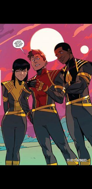 comics power rangers
