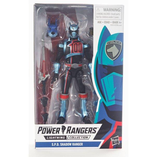 Power Rangers Lightning Collection S.P.D. Shadow Ranger