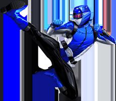 beast morphers blue
