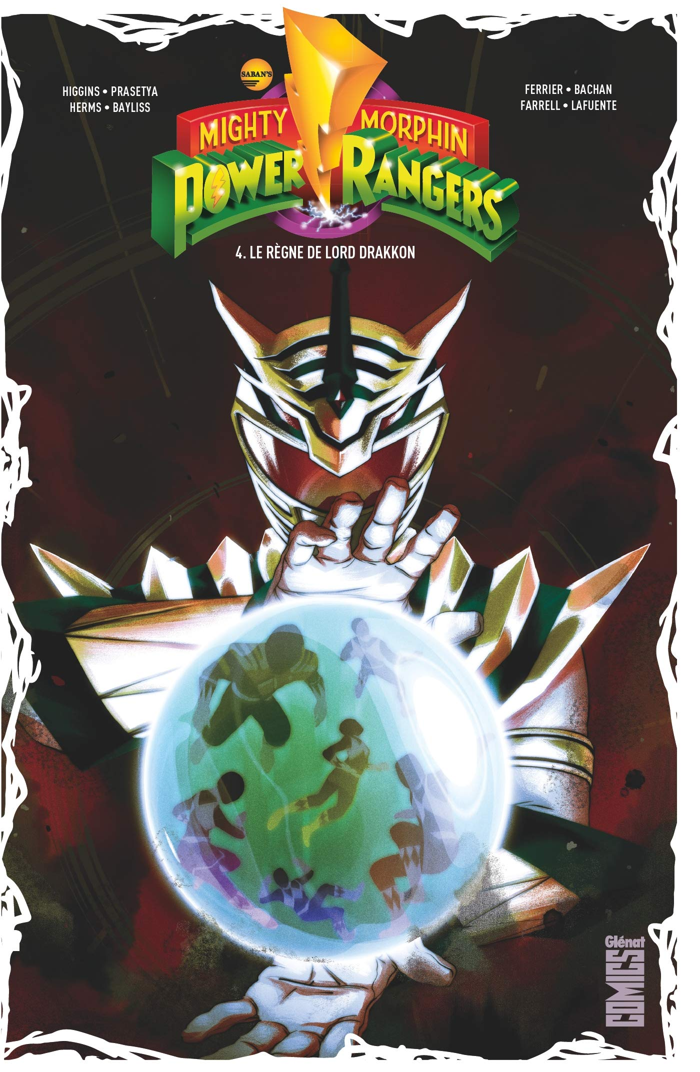 comics tome 4 power rangers