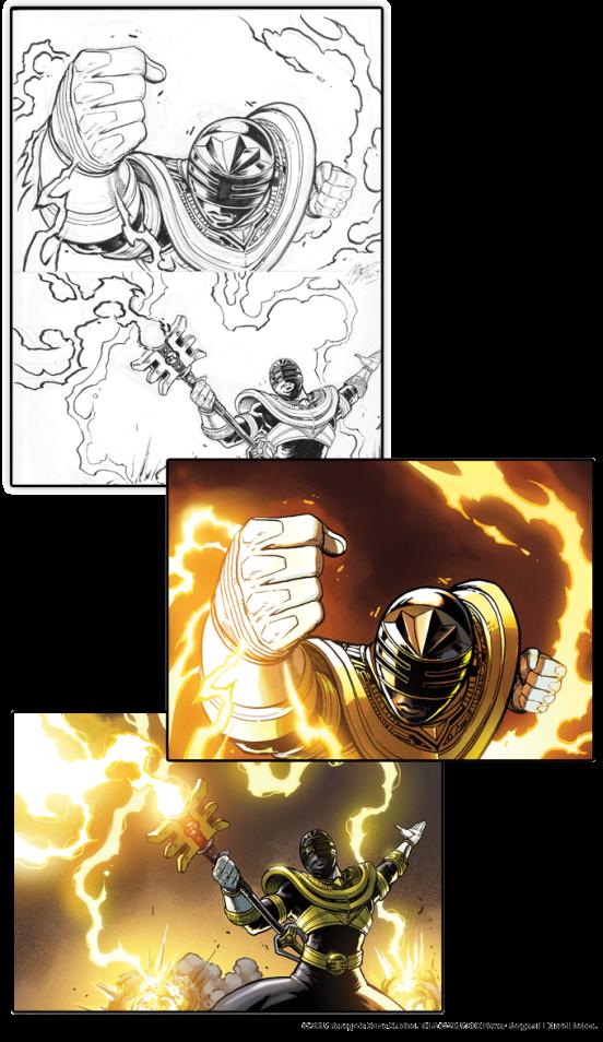 Josh a beaucoup contribué à l'art de Zeo Gold, y compris ces deux pièces.