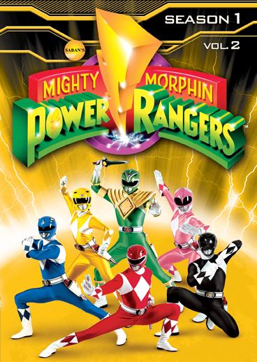dvd power rngers shout factory