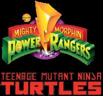 MMPR TMNT Logo