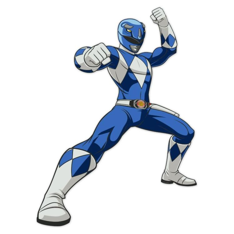 blue power rangers mighty morphin