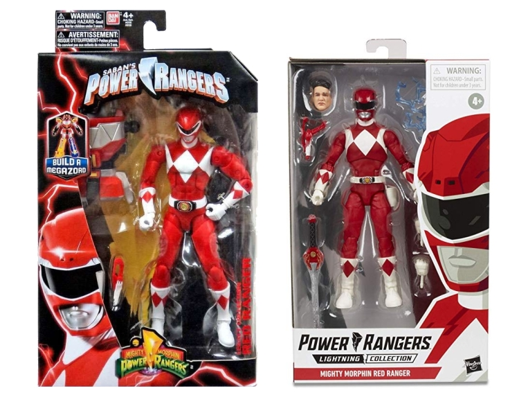 figure rouge mighty morphin