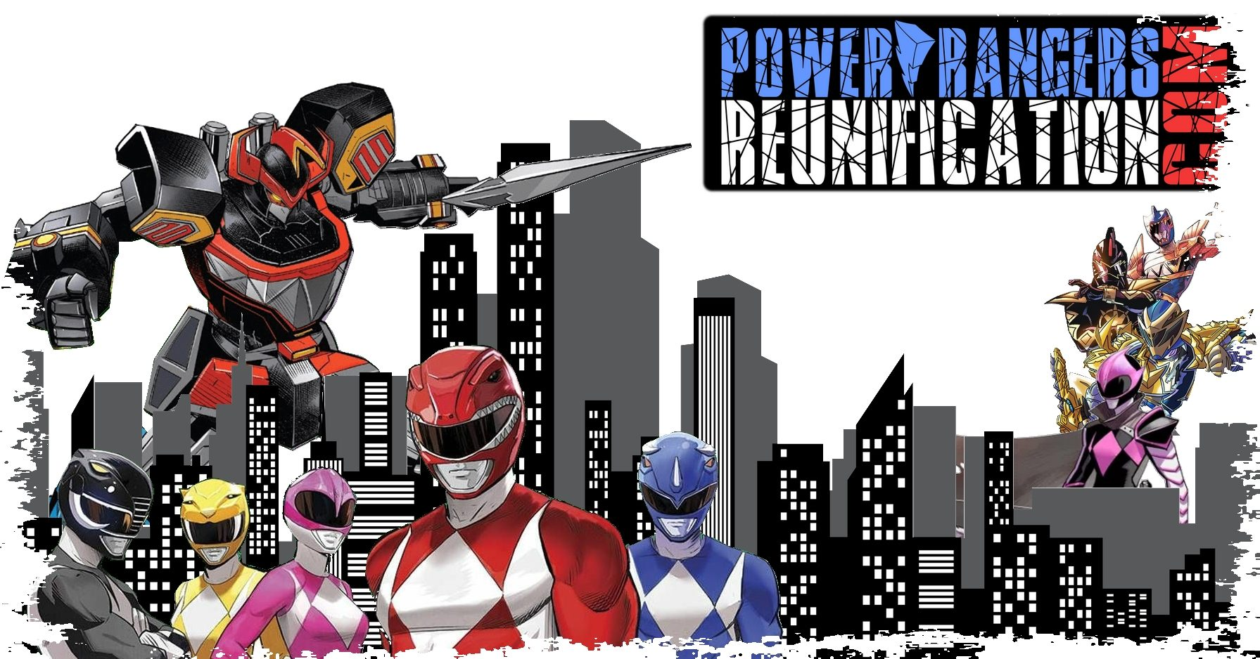 power rangers reunification